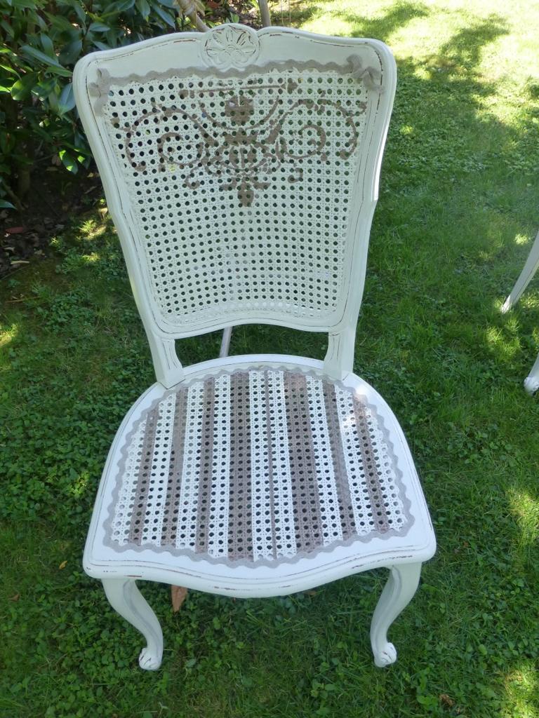 Chaise décapée